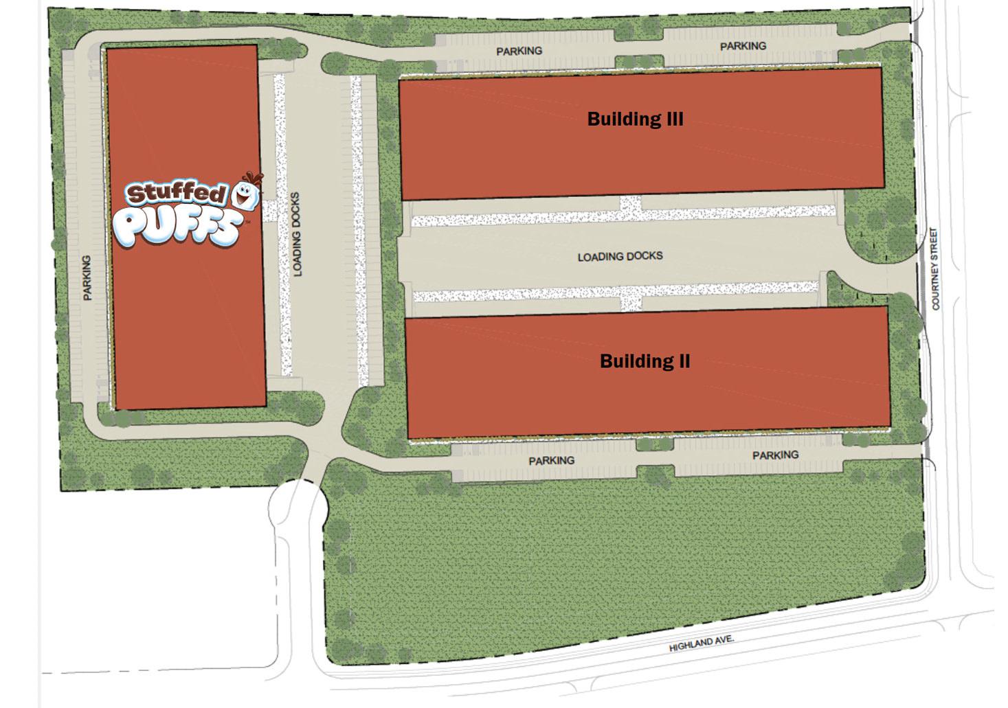 Lehigh Valley Flex Center Site Plan