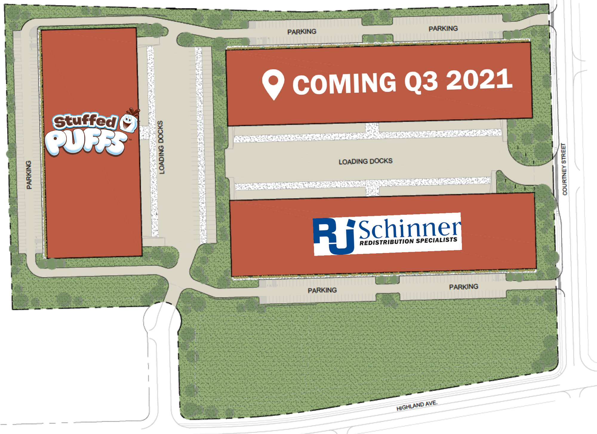 Lehigh Valley Flex Center Site Plan 2021